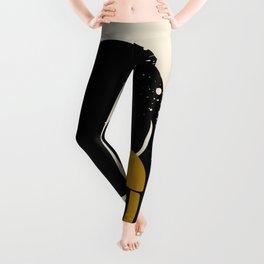 Black Hair No. 4 Leggings