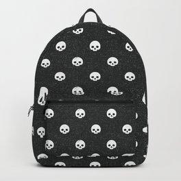 Skull Dot - Coal Backpack