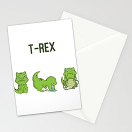 T-Rex wishes to... Trex Fan Gift Stationery Cards