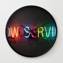 Now Serving Wall Clock