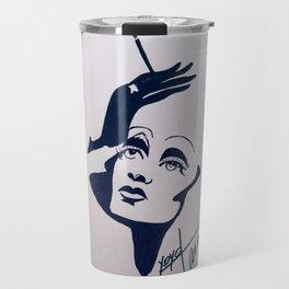 Marlene Sillhouette Travel Mug
