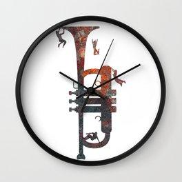Jazzed Wall Clock