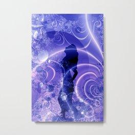 a blue night for dancing Metal Print