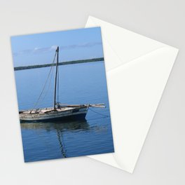 Fishing Boat Seascape Mozambique Africa Stationery Cards