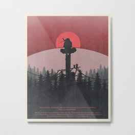 The Lonely Shinobi Metal Print