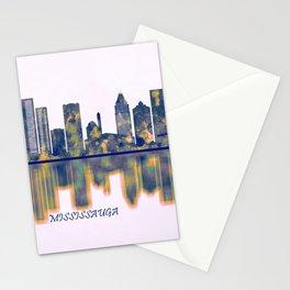 Mississauga Skyline Stationery Cards
