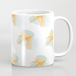 Hand with Nail Guard Coffee Mug