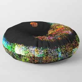 Yin Yang Multi jGibney The MUSEUM Society6 Gifts Floor Pillow