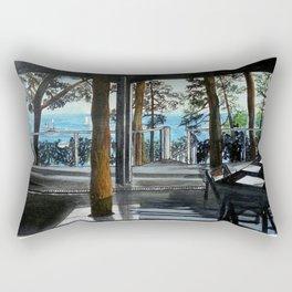 Arquitectura y espacio Rectangular Pillow