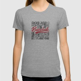 Baseball Typo T-shirt