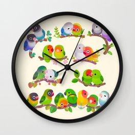 Lovebird Wall Clock