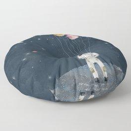 solar collector Floor Pillow