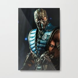 Sub Zero Metal Print