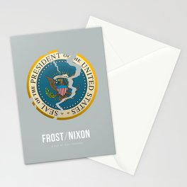 Frost/Nixon - Alternative Movie Poster Stationery Cards