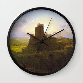 Frederic Edwin Church - Springtime in the Levant Wall Clock
