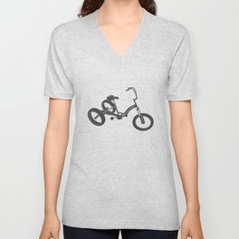 tricycle 02 Unisex V-Neck