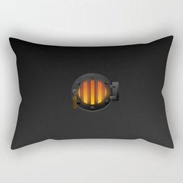 Iron Furance Rectangular Pillow