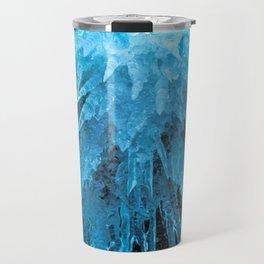 Ice Stalactites Travel Mug