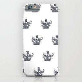 Watercolor Outlander Crown & Thistle iPhone Case