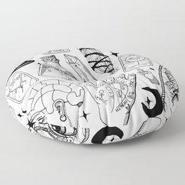 Fortune Teller Starter Pack Black and White Floor Pillow