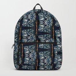 Abstract Graffiti Pattern Backpack