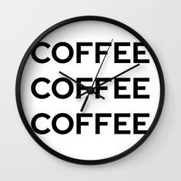 Coffee | Gilmore Girls Wall Clock