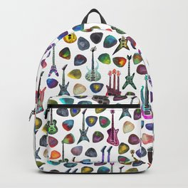 Guitars and Picks Backpack