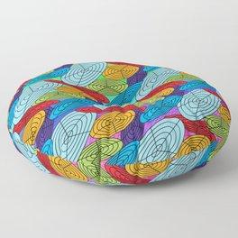 Polar Grid Floor Pillow