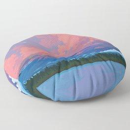 Fuji-san Floor Pillow