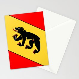 Bern Bear - Swiss City and Canton Crest Stationery Cards
