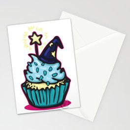 Wizard Cupcake Stationery Cards