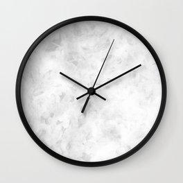Gray Day Wall Clock