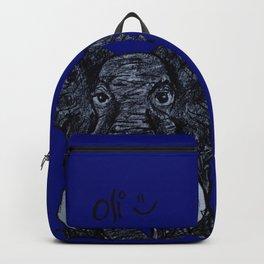 Oli the Elephant- Navy Backpack