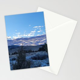 Blue Hour at Glass Buttes Stationery Cards