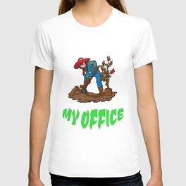 My Office funny farming T-shirt