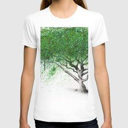 Green Breeze Tree T-shirt