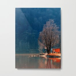 Gone fishing | waterscape photography Metal Print