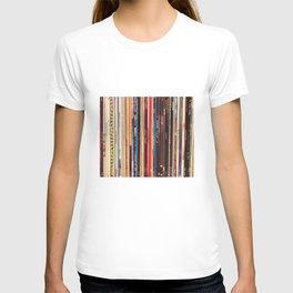 Indie Rock Vinyl Records T-Shirt