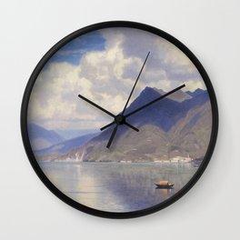 William Stanley Haseltine - Lago Maggiore Wall Clock