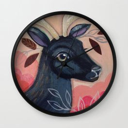 Forest Queen by CJ Metzger Wall Clock