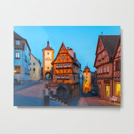 ROTHENBURG 01 Metal Print