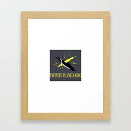 Infinite Plane Radio Framed Art Print