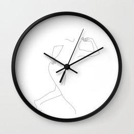 Figure movement illustration - Joni Wall Clock