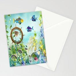 Leben im Wasser Stationery Cards