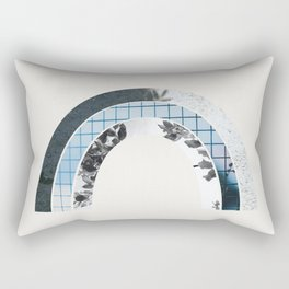Winter Rainbow Rectangular Pillow