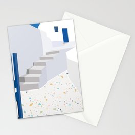 Architectural greece Stationery Cards