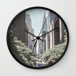 New York Street Wall Clock