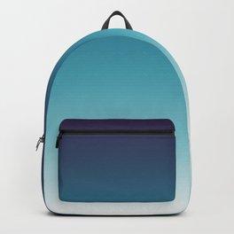 Blue White Gradient Backpack