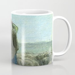 "Jean-François Millet ""Le Passage des oies sauvages - The Passage of wild geese"" Coffee Mug"