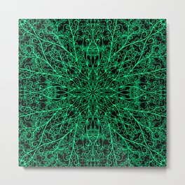 Elven Thread Metal Print